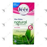 Veet Wax Strips 20s Natural Normal Skin
