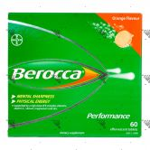Berocca Performance Effervescent Tablets 60s
