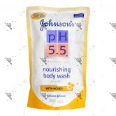 Johnson's PH5.5 Bodywash 500ml Refill Honey