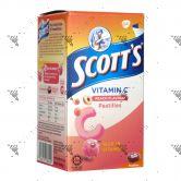 Scott's Vitamin C Pastilles 50s Peach