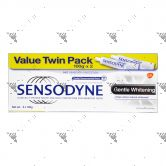Sensodyne Toothpaste Twinpack (100gx2) Gentle Whitening