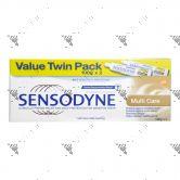 Sensodyne Toothpaste 100gx2 Multi Care
