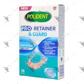 Polident Denture Pro Retainer & Guard Cleanser 35s Clear & Fresh