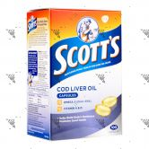 Scott's Pure Cod Liver Oil 100 Capsules
