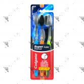 Colgate Toothbrush Super Flexi Charcoal 3s Soft