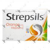 Strepsils Antiseptic Lozenges 24s Vitamin C