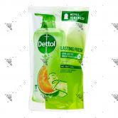 Dettol Bodywash Refill 900g Lasting Fresh