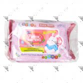 Pureen Baby Wipes 2x30s Pink