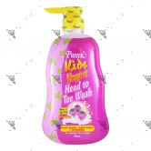 Pureen Kids Yogurt Head To Toe 750ml Raspberry