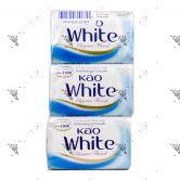 Kao White Soap 85gx3s Elegant Floral