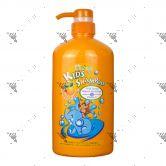 Follow Me Kid Shampoo 800ml Orange