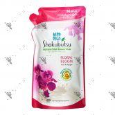 Shokubutsu Shower Cream 550g Refill Floral Delight