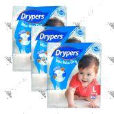 Drypers Wee Wee Dry L62 (1Carton=3pack)