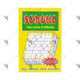 Sudoku Four Levels of Difficulty Book 22