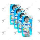 Moony Air Fit Pants For Girls XL38s (1Carton=4pack)
