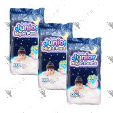 MamyPoko Junior Night Pants (Girls) XXXL 24S (1Carton=3pack)