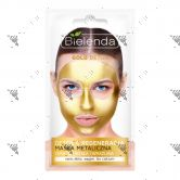 Bielenda Gold Detox & Regenerating Metallic Face Mask 8g