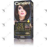 Cameleo Perm Hair Colour Cream 4.03 Mocha Brown